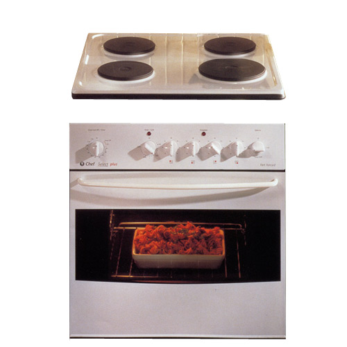 chef select old oven manual