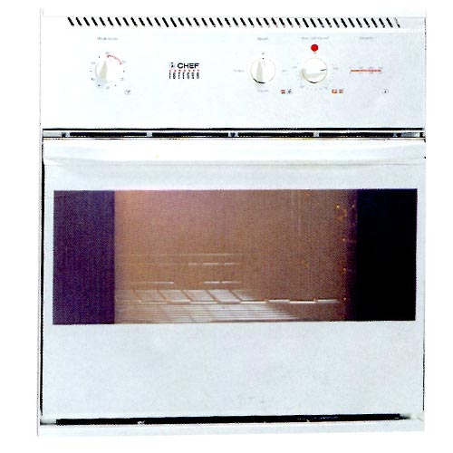 Coronet Integra Models Single Ovens Chef Electric